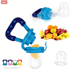 Silicone Baby Fruit Feeder